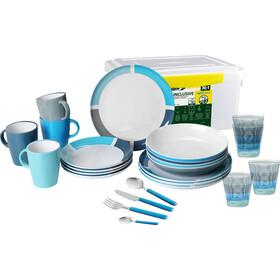 Brunner All Inclusive Dishes Set 36+1 Pieces design aquarius